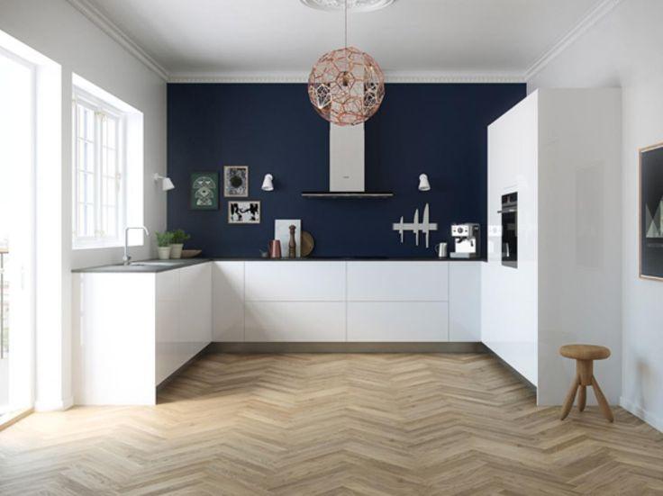 Découvrez notre collection de cuisines - L'expérience d'une cuisine spacieuse mettant l'accent sur l'ergonomie et plus de place.