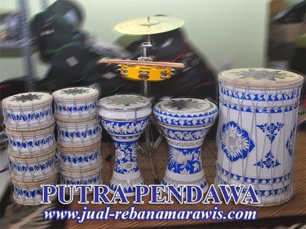 1 set Marawis  Batik Putih Biru