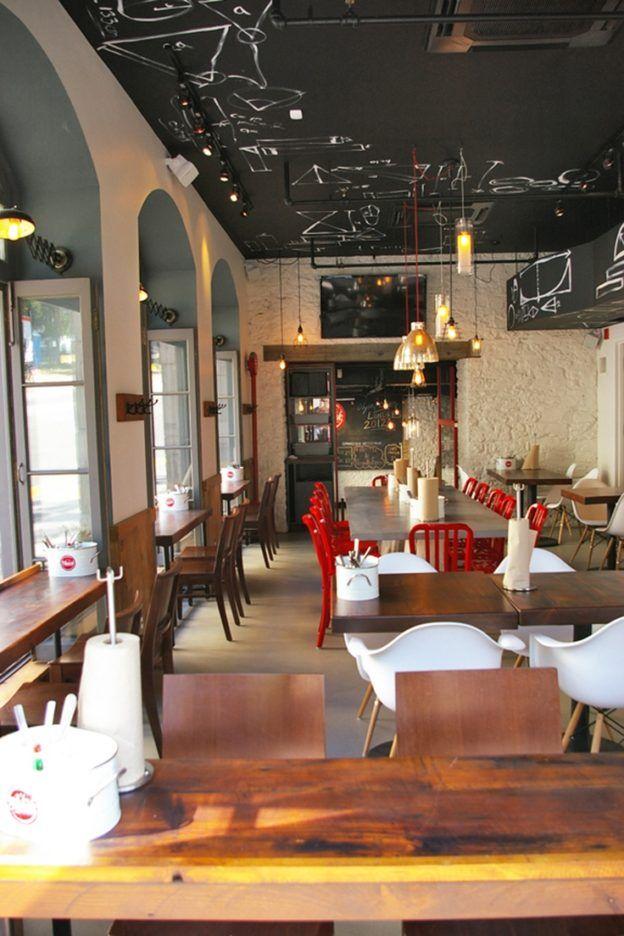 Burger Restaurant Kitchen Layout 33 best hot dog shop design images on pinterest | dog shop, hot