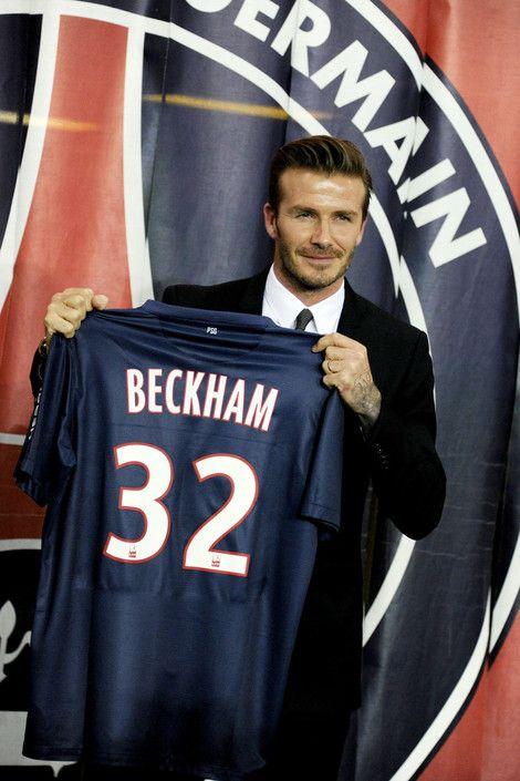David Beckham announces he has signed a five month deal to join Paris Saint-Germain.