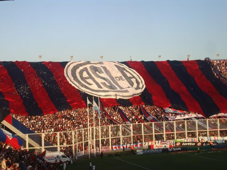 Bandera del Club Atlético #SanLorenzo de Almagro - #CASLA