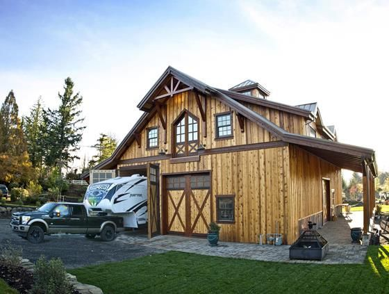 Image Result For 3 Garage Apartment With Class Pole Barn