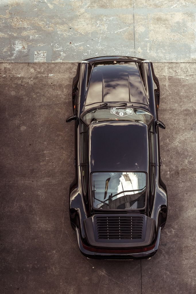 Hot Porsche, seen from the loft.