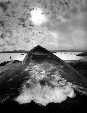 Jerry Uelsmann Untitled 2004 No Photoshop The Entire Process Of Post Production Takes Place Exclusively In Darkroom