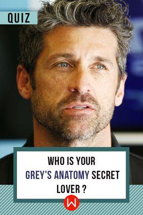 Grey's Anatomy. Shonda Rhimes. Grey's Secret Lovers. Seattle Hospital. On Call Rooms. Mark Sloan, Derek Shepherd, Alex Karev. Patrick Dempsey, McDreamy.