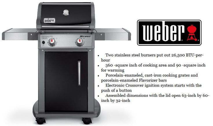 Weber Gas Grills On Sale