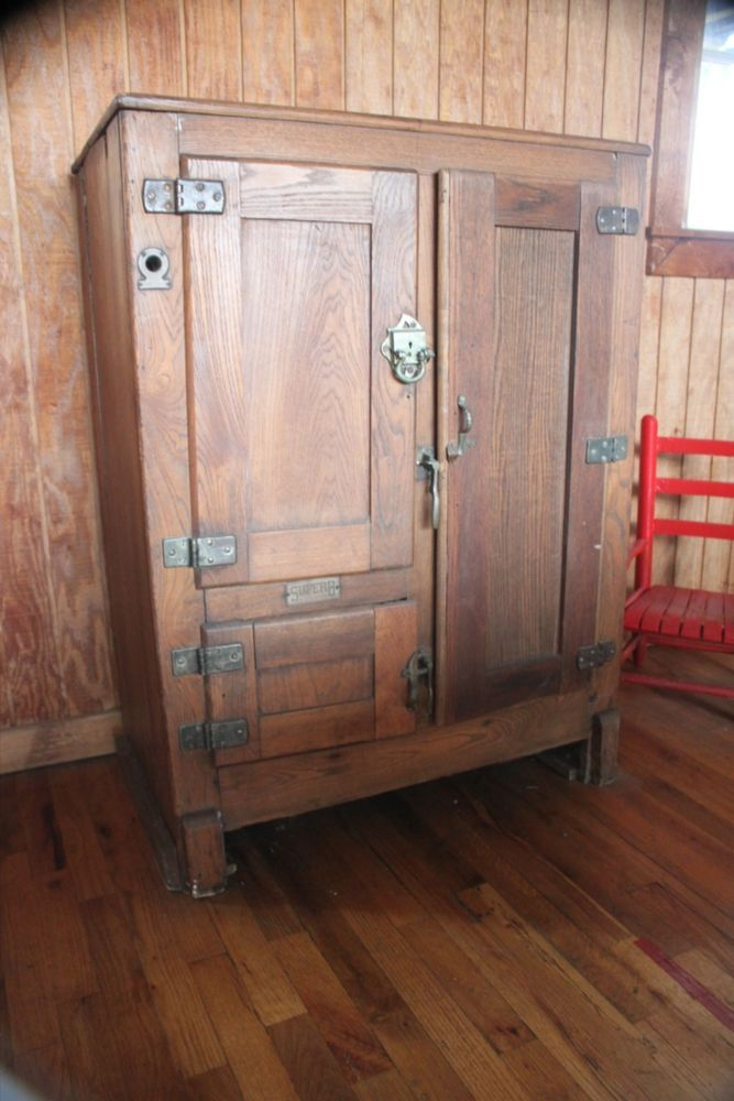 1000 Images About Antique Ice Boxes On Pinterest
