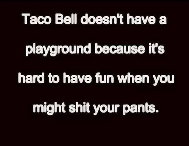 The reason Taco Bell has no playground