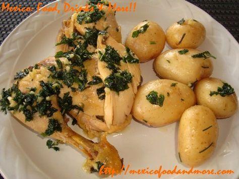 Pollo Mojo de Ajo Recipe (kinda like Serrano's) - Try and see...