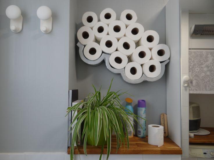 mais de 1000 ideias sobre porte papier toilette no. Black Bedroom Furniture Sets. Home Design Ideas