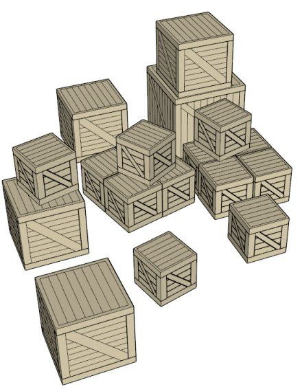 Wooden Crates Data