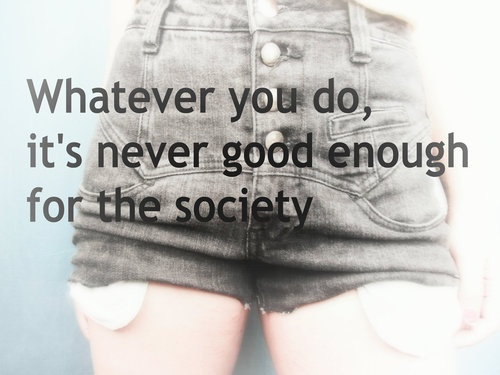 never good enough.: Body Image, Image Projects