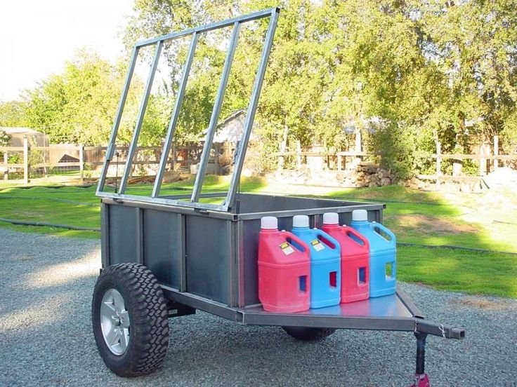 High Clearance Offroad Trailer - Pirate4x4.Com : 4x4 and Off-Road Forum **Basic DIY set up for rigging out an off-road trailer**
