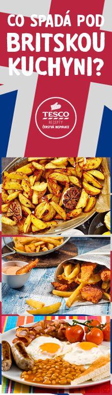 Připravte si jídla z britské kuchyně!