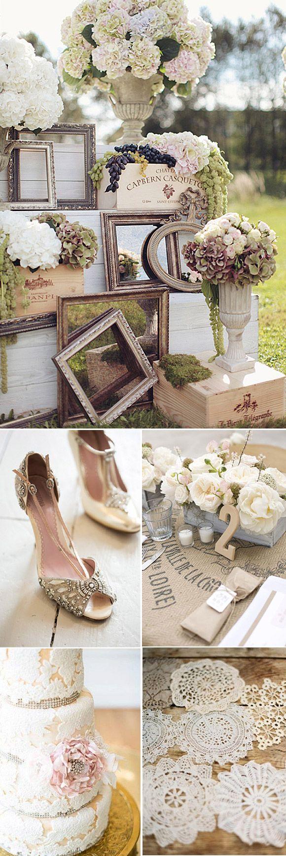 Matrimonio vintage y romántico 3