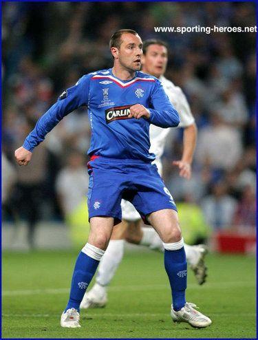 Kris Boyd - Rangers FC - UEFA Cup Final 2008