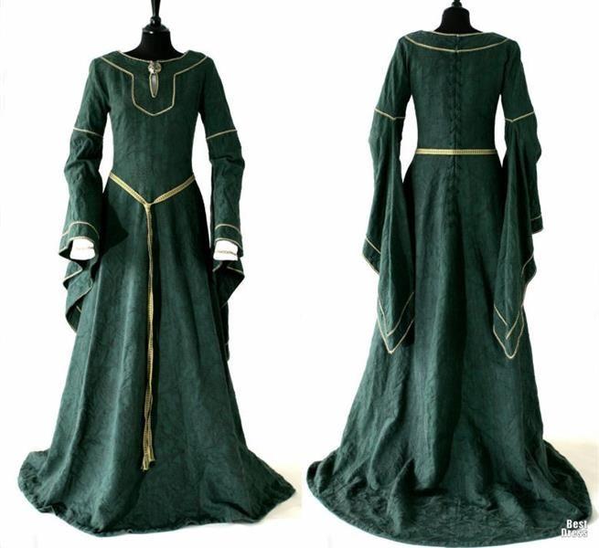 В каком веке носили эльфийское платье