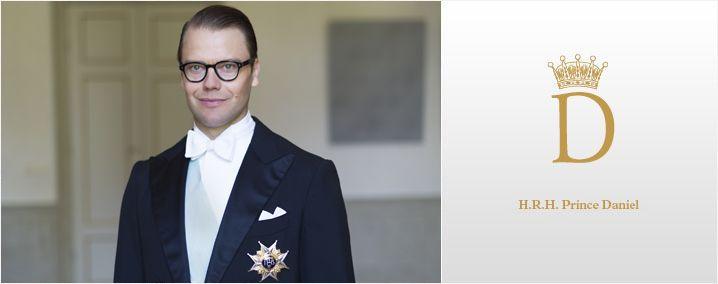 H.R.H. Prince Daniel - Sveriges Kungahus