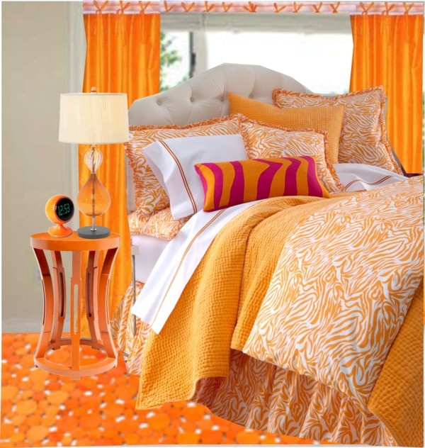 ORANGE Décor: HOME                                       orange décor à la maison (@#LittleBearProd)