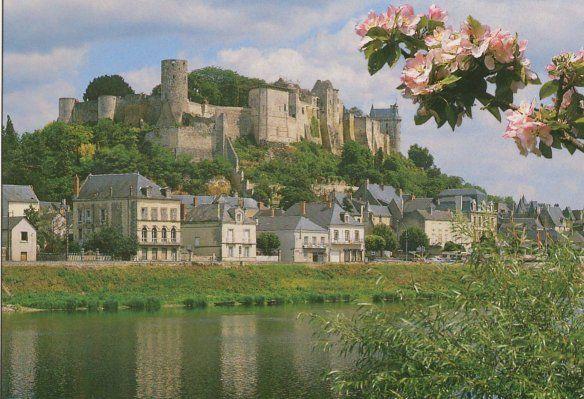 Histoire du Chateau de Chinon. Antiquité et période Gallo-romaine