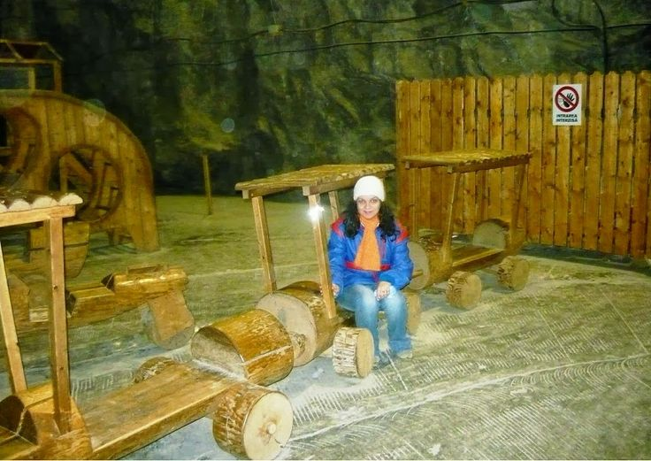 Having a definitely fabulous time in the salt mine from Slanic Prahova, Romania. Don't fear the hard labour anymore, it is meant for the tourists only.