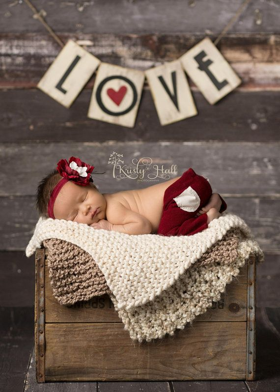 Adorable shot! Cranberry Unisex pants with matching cranberry by Luneberry, $38.00