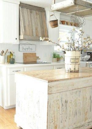 31 best Küchen Inspiration images on Pinterest Kitchens, Deco - kchen weiss landhausstil modern