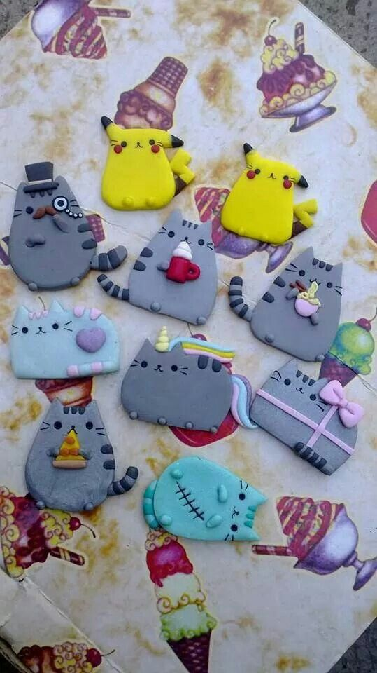 Cuteeeeeeee #kawaii #clay