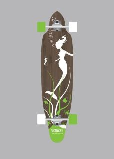 Norwaii longboards Mermaid
