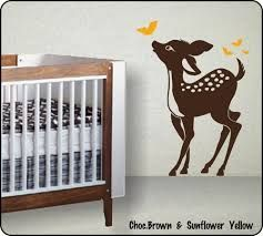baby room stencils painting - Google Search