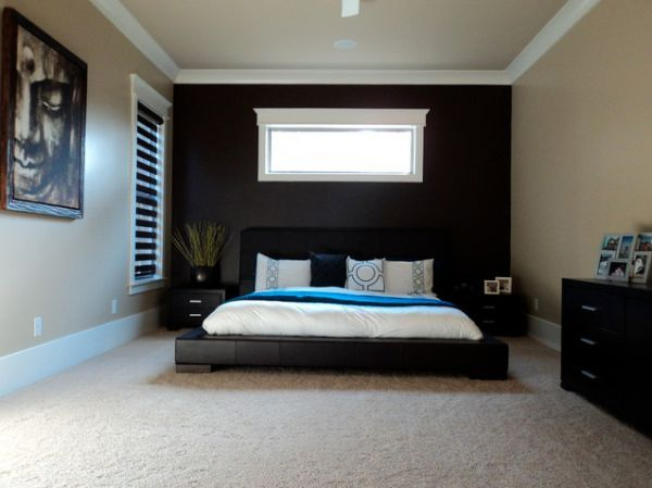 Black accent wall decor bedroom pinterest for Black accent wall