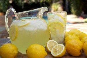 lemonade with essential oils