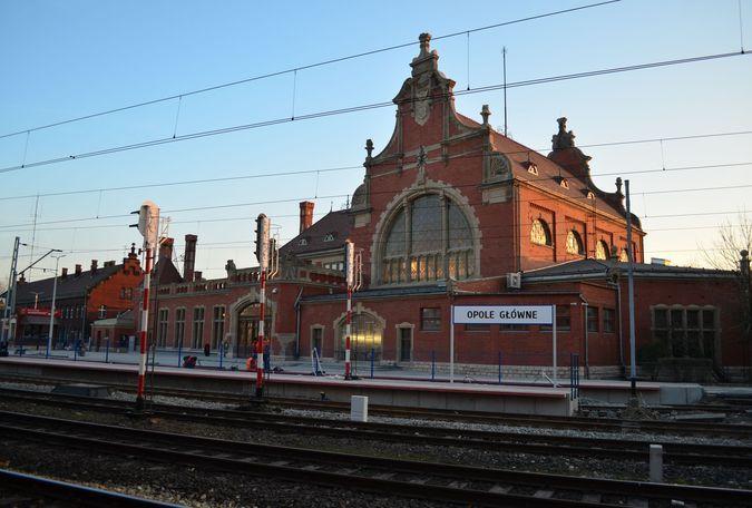 Dworzec Opole Główne po przebudowie
