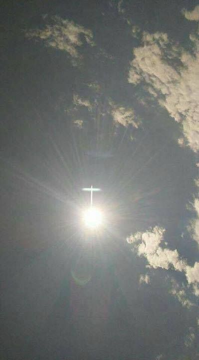 Visions of Jesus Christ.com - Cross appeared in the sky at Medjugorie on September 13, 2017