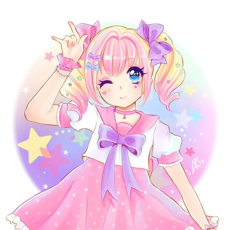 anime kawaii pastel: 164 Best Anime~Pastel Images On Pinterest