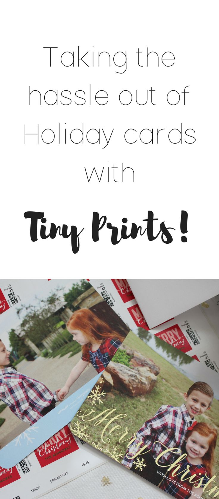 Holiday cards with Tiny Prints!