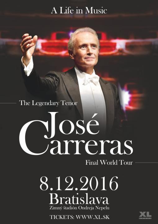 """Hviezdny tenor s nálepkou """"the nicest man in opera"""", teda """"najmilší človek v opernom svete"""", José Carreras oslávil v roku 2014 svoj senzačný návrat na opernú scénu titulnou rolou v novej opere """"El Juez"""" (Sudce). Standing ovation, vypredané predstavenia a kritiky píšuce o """"comebacku snov"""" sprevádzali jeho návrat na operné pódiá po takmer osemročnej"""