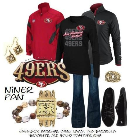 Niner Fan - Yes I would so wear this!! NINERS ALL DAY BABY