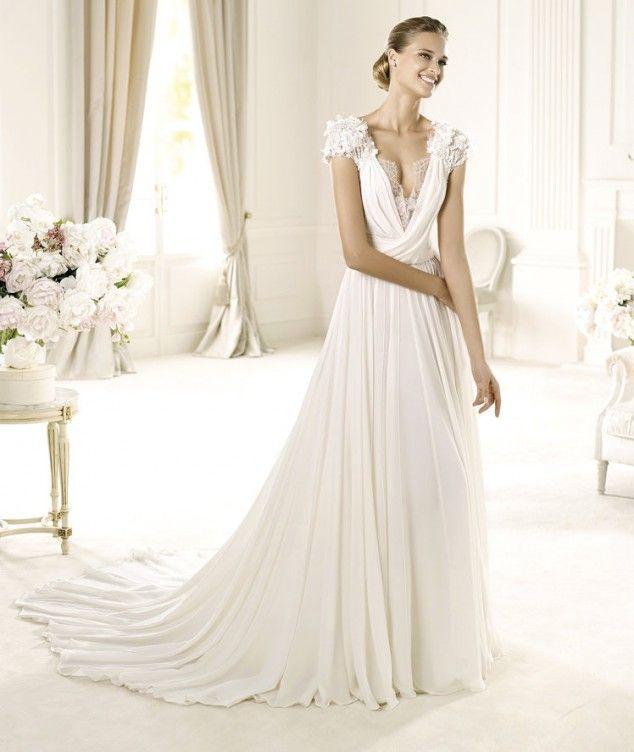 46 besten Wedding Dresses Bilder auf Pinterest | Hochzeitskleider ...