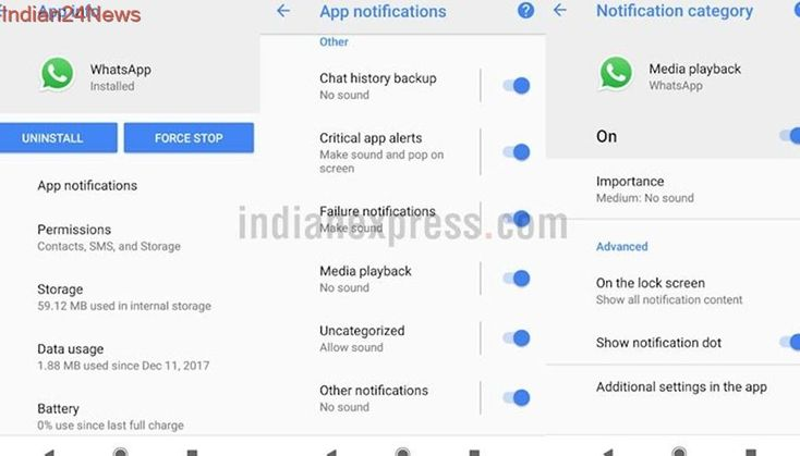 WhatsApp beta on Android 8.0 Oreo gets notifications channel support