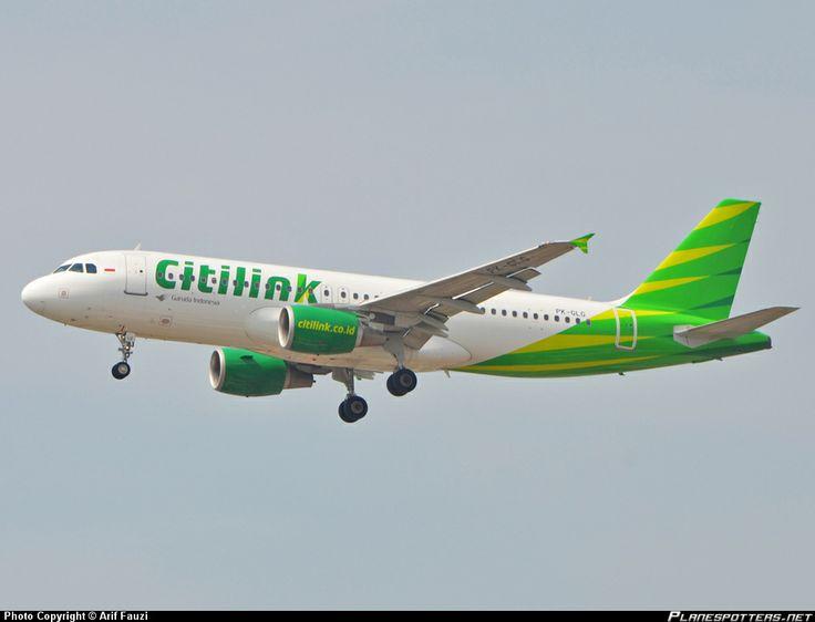 PK-GLG Citilink Garuda Indonesia Airbus A320-214