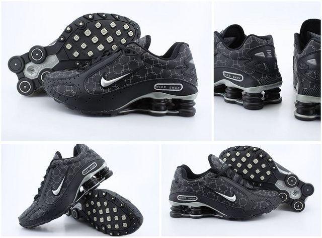 Nike Shox Monster Skor Svart Silver Man 53272 Skor