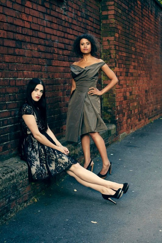 Katie McGrath and Angel Coulby | via fb