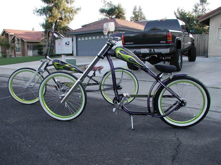 Very Cool Custom Nirve Switchblade Chopper Cruiser Bike Bikes