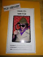 Case File Mystery Book Report- I would change it into a flip book format. Use…