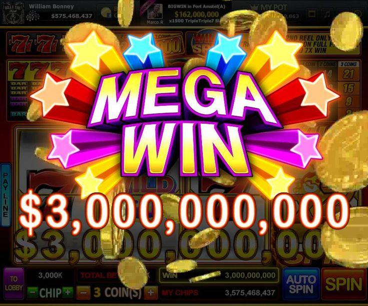 'Mega Win' on '777 ' Slot Koin