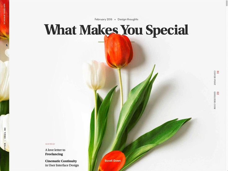 What Makes You Special - Guglieri.com