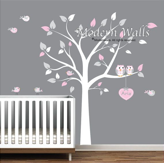 Hey, I found this really awesome Etsy listing at https://www.etsy.com/listing/99694219/baby-nursery-owl-wall-decal-childrens