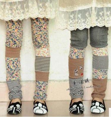 patchwork leggings!