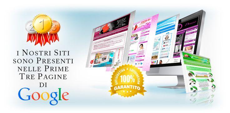 Creazione e Realizzazione siti Web Professionali, posizionati nelle prime pagine nei motori di ricerca. http://www.fwsitiweb.it/index.html